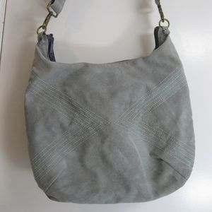 Queen Bee Creations Rita Hobo Shoulder Bag - Grey